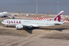 QATAR AIRWAYS CARGO B777-F A7-BFO 0042 (A.S. Kevin N.V.M.M. Chung) Tags: aviation aircraft aeroplane airport airlines plane spotting boeing b777 b777f mfm macauinternationalairport qatar cargo taxiway apron