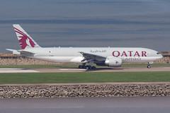 QATAR AIRWAYS CARGO B777-F A7-BFO 009 (A.S. Kevin N.V.M.M. Chung) Tags: aviation aircraft aeroplane airport airlines plane spotting boeing b777 b777f mfm macauinternationalairport qatar cargo runway takeoff
