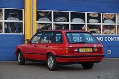 1991 BMW 318i Touring (NielsdeWit) Tags: nielsdewit car vehicle dbzg54 ede bmw e30 touring 3series 318 318i red