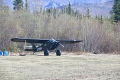 Bush Plane (neukomment) Tags: alaska road nabesnaroad mentastamountains mountains may 2019 spring wiiderness canoneosrebelt5i 18250mmf3563dcosmacrohsm sigmalens