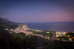Croatia City Lights (Sheriff Donnerknall) Tags: kroatien croatia abend licht strand dorf
