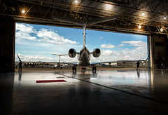 Ramped for Departure (Adam Fallwell) Tags: legacy 450 airsprint private aviation airplane embraer executive jet