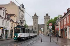 Potsdam - 29-04-2019 (Mat'97) Tags: potsdam tatra nauener tor strassenbahn tram tramway tramvaj tramwaj tramcar berlin vbb kt4d