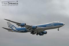 LHR_Air Bridge Cargo 747 copy (Finn Sprakes) Tags: canon canon1100d runway travel avgeek aviation airport aviationphotography lhr touchdown heathrow londonheathrow egll 27l ba myrtle london 747 747400 british airways