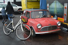(Sam Tait) Tags: santa pod raceway england drag racing race track doorslammers austin mini classic vintage audi s2
