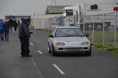 Big Man Ting (Sam Tait) Tags: santa pod raceway england drag racing race track doorslammers honda civic