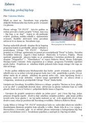 Mani dop, probaj hip hop - Zadarski list