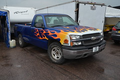 (Sam Tait) Tags: santa pod raceway england drag racing race track doorslammers chevrolet pick up truck