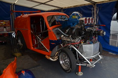 (Sam Tait) Tags: santa pod raceway england drag racing race track doorslammers orange pop ford anglia outlaw
