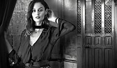 (horlo) Tags: nicoletrunfio bw blackandwhite vintage noiretblanc nb wallpaper fonddécran glamour monochrome woman femme portrait collage og250