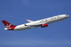 G-VWAG Virgin Atlantic Airways Airbus A330-343 departing London Heathrow on 13 May 2019 (Zone 49 Photography) Tags: aircraft airliner aeroplane may 2019 london england egll lhr heathrow airport vs vir virgin atlantic airways airbus a330 333 343 gvwag