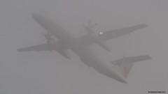 P9161607 TRUDEAU FOGGY MORN (hex1952) Tags: yul trudeau canada bombardier aircanada aircanadaexpress dash8 dhc8 dash