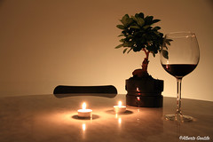 my Son & a glass of wine (alberto.gentile89) Tags: canoneos 7d wine tree bonsai home experiments drink