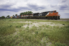 CN 8954 - Mattoon, Illinois (backlitkid) Tags: sd70m2 freight cn bcol gtw geeps dash9 illinois trains train railroading railfanning