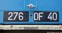 276DF40 (XBXG) Tags: 276df40 license plate kenteken plaque immatriculation immat les landes 40 france frankrijk