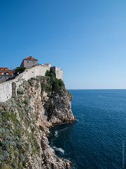 Cliffs Below the Old City Wall