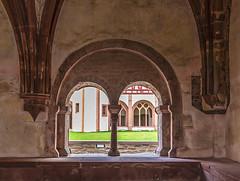 Kloster Eberbach (ulrichcziollek) Tags: hessen eberbach eltville kirche kirchenschiff kloster romanik romanisch