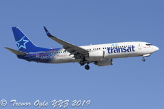 DSC_0300Pwm (T.O. Images) Tags: cgtqj air transat boeing 737 737800 toronto pearson yyz