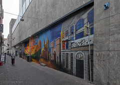 Raamstraat (Pieter Musterd) Tags: raamstraat mural achterdeduinen pietermusterd musterd canon pmusterdziggonl nederland holland nl canon5dmarkii canon5d denhaag 'sgravenhage thehague lahaye