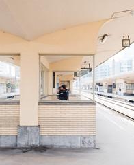 Gare du Nord (Orestis Vougias) Tags: brussels bruxelles people station train gare du nord belgium color fuji fujifilm xt3 schaarbeek street