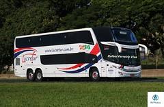 Lucretur - 7410 (RV Photos) Tags: turismo bus onibus doubledecker br116 rodoviapresidentedutra lucretur paradiso1800dd marcopolo marcopolog7 scania