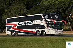 Cantelli - 4118 (RV Photos) Tags: turismo bus onibus doubledecker br116 rodoviapresidentedutra cantellitur marcopolo marcopolog7 paradiso1800dd scania leitototal