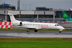 G-SAJG EMB-145 Loganair (eigjb) Tags: dublin airport international ireland eidw jet transport airliner aircraft plane spotting airplane aeroplane aviation 2019 collinstown gsajg emb145 loganair embraer e145 regional scotlands airline