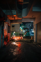Untitled (easyroute) Tags: night 201905 工事 untitled 沖縄 夜 那覇 2019 ricohgriii カラー color gr gr3 grd griii japan naha nahacity okinawa ricoh ricohgr3 リコーgr3 リコーgriii