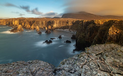 Mangurstadh (He Ro.) Tags: 2019 schottland scotland winter availablelightimages mangersta mangurstadh sunset goldenhour cliffs seastacks landscape seascape outerhebrides outdoor nature wild uk coast longexposure leefilters bigstopper bulbmode