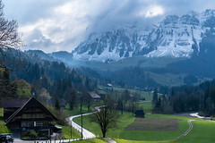 Eriz (Joachim S.) Tags: berge eriz schnee strasse cantonofbern switzerland