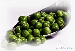 Peaspoon! (milan_146) Tags: macromondays aspoonful spoon spoonful peas light texture hikey macro closeup nikon d7100 nikkor nikkor105mmf28gvrmicro