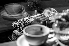 (Feininger's Cat (Thanks for 1.3 million views!)) Tags: leica leicam8 summaritm50mmf24 50mmffequiv street coffee blackandwhite apsh leicasummaritm12450 summarit summarit50 50mm leicam rangefinder messsucher ccdsensor