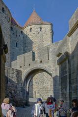 CARCASSONNE-093--OCCITANIE-PANORAMIQUE-_DSC0405 (bercast) Tags: aude carcassonne chateau chateaumedieval chateaumedival france occitanie ue bc bercast lamuraille àlintérieurdeacitédecarcassonne