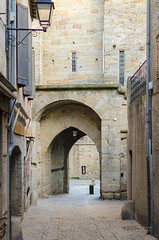 CARCASSONNE-094--OCCITANIE-PANORAMIQUE-_DSC0565 (bercast) Tags: aude carcassonne chateau chateaumedieval france occitanie ue bc bercast lamuraille àlintérieurdeacitédecarcassonne