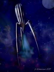 starship, alien 2......2019-05-19 (wintersoul1) Tags: space spaceart digitalart stars starship alessi phillippestarck
