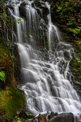 Slipstone Falls (AjaRai) Tags: skamaniacounty slickrockfalls washington
