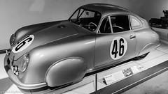 1951 Porsche 356SL Gmünd Coupe (Thad Zajdowicz) Tags: zajdowicz availablelight lightroom usa travel leica car automobile vehicle transportation classic porsche gmünd 356sl coupe blackandwhite black white bw monochrome indoor inside