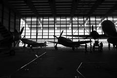 Planes (Ken-Zan) Tags: flygplan aircrafts paris bw mono ljunghav kenzan