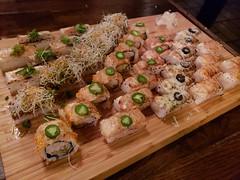 Vancouver Restaurants: Green Leaf Café (x3unice) Tags: vancouver vancouverfood foodie sushi aburi japanesefood