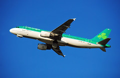 Aer Lingus Airbus A320 (Infinity & Beyond Photography: Kev Cook) Tags: aer lingus irish airlines airbus a320 aircraft airplane airliner london heathrow airport lhr photos planes eidec