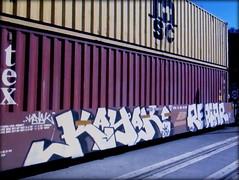 kayak - reptar (timetomakethepasta) Tags: kayak reptar pch freight train graffiti art intermodal bnsf