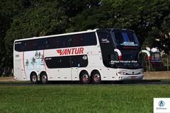Vantur - 2005 (RV Photos) Tags: bus onibus doubledecker turismo br116 rodoviapresidentedutra vantur marcopolo marcopolog6 paradiso1800dd