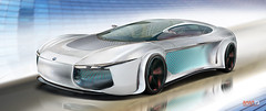 MAJENE (surRANTo dwisaputra) Tags: car digitalart majene concepcar designcar design moden future bmw road bmwt