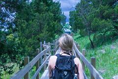 Every journey starts with a step. (derren.dettloff) Tags: bridge hike missouri mo ha tonka laughing water adventure sunday funday