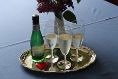 Helgoland Sekt zum Anstoßen am Muttertag (multipel_bleiben) Tags: essen zugastbeifreunden sekt alkoholika