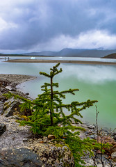Mendenhall Glacier Lake (stardusttphotography) Tags: alaska glacier tree nature landscape reflection