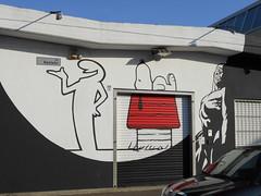 026 (en-ri) Tags: linra snoopy peanuts fumetti nero bianco rosso torino wall muro graffiti writing