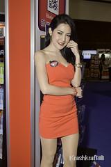 Commart NextGen 2015 (krashkraft) Tags: 2015 allrightsreserved bangkok beautiful commart gorgeous krashkraft praewchompoosilapanjanizta pretty qsncc thailand พริตตี้ เซ็กซี่ beauty boothbabe