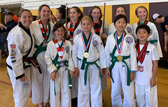 From the front (TheBurgners) Tags: tsd wtsda paresh tournament san francisco tang soo do