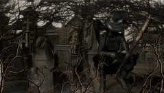 Burke & Hare Ltd. (tralala.loordes) Tags: eclipseevent eclipseblogger event secondlife sl slfashionblogging slblogging fashion tralalaloordes tralala tra flickrart flickrblogging fantasy virtualphotography virtualreality vr avatar drd skye sugar rgraverobber burkehare bodysnatching graveyards cemetery rkkn aisha shi tombrobber professorrobertknox kirkyard burkethem